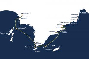 Circuit - Essentiel des Calanques - Icard Maritime