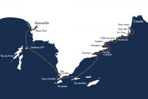 Circuit - Intégrale des Calanques - Icard Maritime